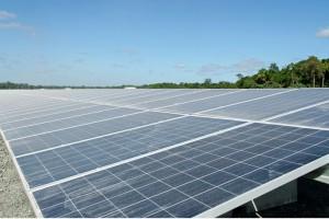 Al 2110 zonnepanelen gelegd in Sint-Michielsgestel. © ANP